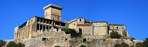 Castelo de Monterrei, Monterrei, Ourense, vista sur