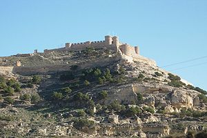 Chinchilla de Montearagón - Image: Castillo Chinchilla