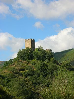Cervantes, Lugo - Castle at Doiras, Cervantes