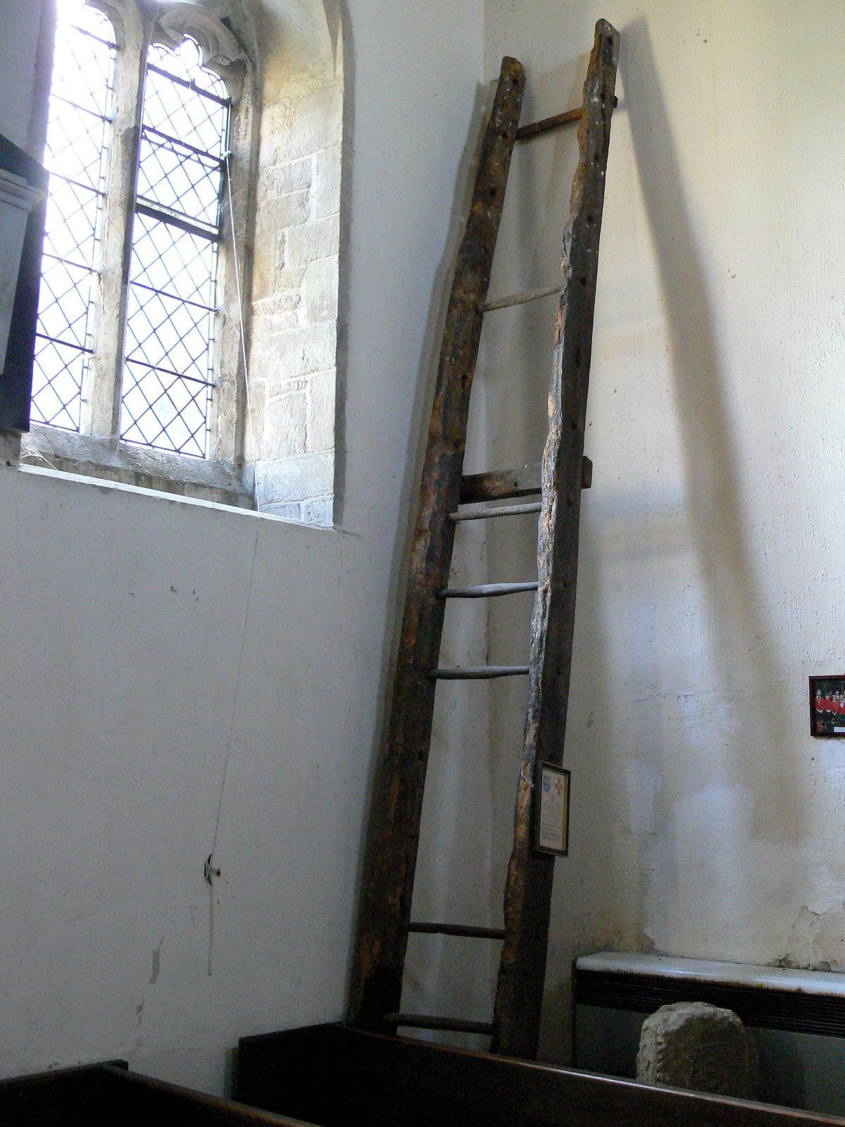 Escalera de mano wikipedia la enciclopedia libre for Escalera madera portatil