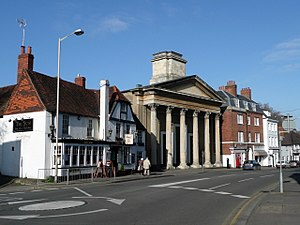 St Mary's Church, Castle Street, Reading - Image: Castle Street, Reading (1)