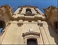 Catedral de Murcia - Fachada sur de campanario y reloj solar en el balcón de los conjuratorios.jpg