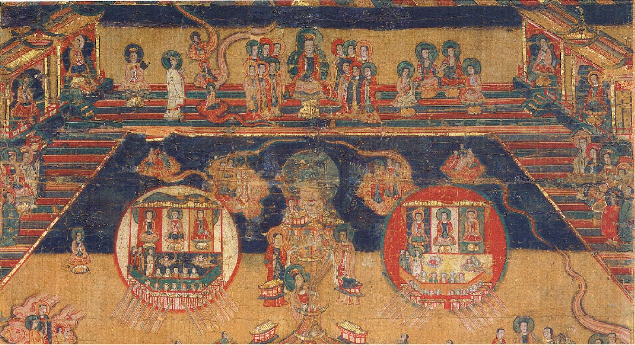 Cathayan Manichaean Cosmology - Heaven Scene