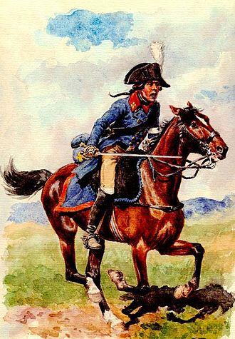 Armée des Émigrés - Cavalier Noble