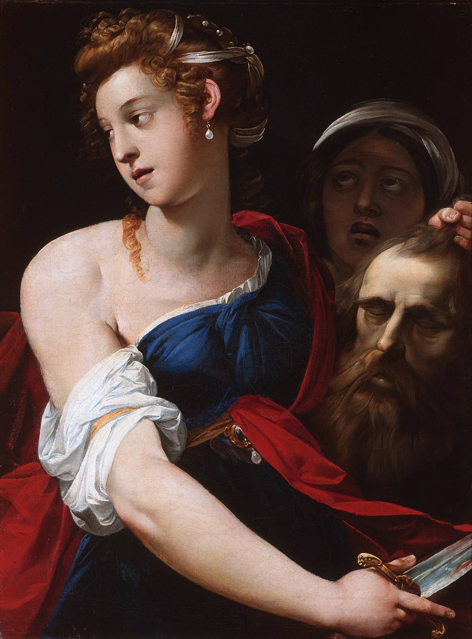 Cavalier d'Arpino - Judith with the Head of Holofernes - WGA04699
