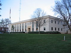Cedar County IA Courthouse