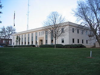 Cedar County, Iowa - Image: Cedar County IA Courthouse