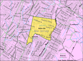 Census Bureau map of Belleville, New Jersey.png