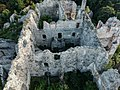 Center of Ružica castle from above.jpg