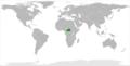 Central African Republic North Korea Locator.png