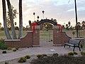 Central Phoenix, AZ, View NW, Encanto Park Entrada, December 20, 2011 - panoramio.jpg