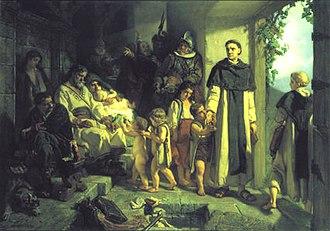 Jaroslav Čermák (painter) - Image: Cermak, Jaroslav Protireformace (1854)