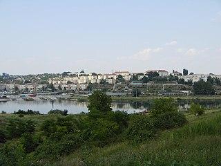 Cernavodă Town in Constanța County, Romania