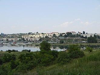 Cernavodă - Image: Cernavodă center