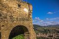 Cetatea Taraneasca de la Saschiz si orasul Saschiz.jpg