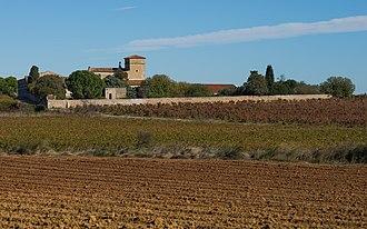 Villeneuve-lès-Maguelone - Image: Château d'Exindre, Villeneuve lès Maguelone 02