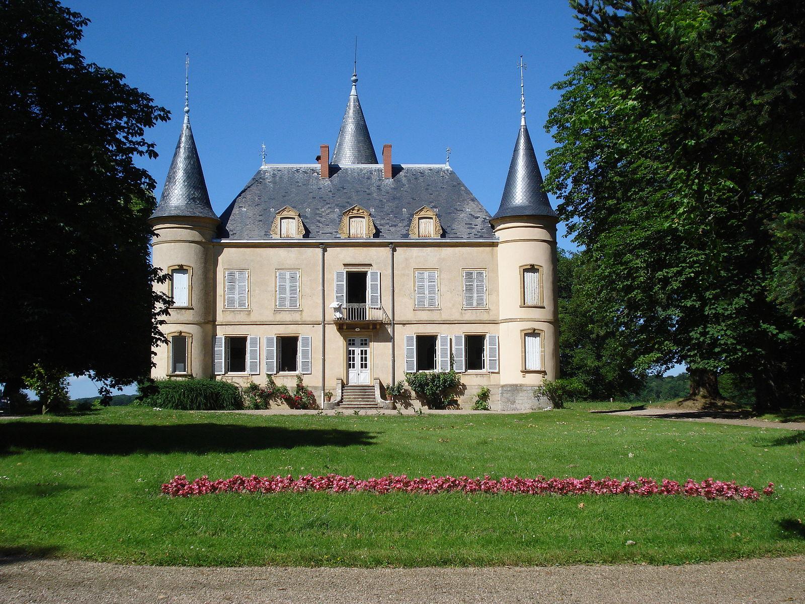 Château de Clessy, Saône-et-Loire, France