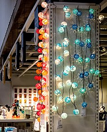 Lichterkette Beleuchtung Wikipedia