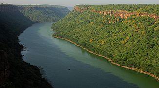Mittellauf des Chambal bei Kota