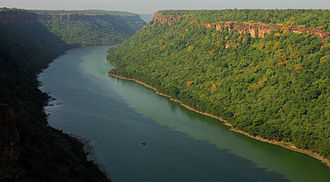 Chambal River - Chambal River near Kota, Rajasthan
