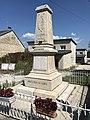 Charchilla (Jura, France) en juillet 2018 - monument aux morts - 3.JPG