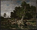Charles Émile Jacque - Shepherdess Watering Sheep - 20.1867 - Museum of Fine Arts.jpg