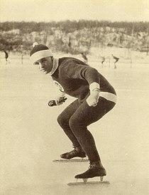 Charles Ingraham Gorman, Speed Skater, Saint John, New Brunswick circa 1921.JPG