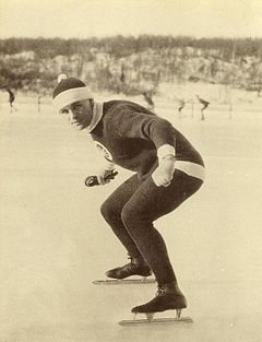 Charles Ingraham Gorman, Speed Skater, Saint John, New Brunswick circa 1921.JPG