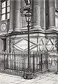Charles Marville, Hôtel de Ville, grille de la façade, 1878.jpg