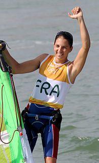 Charline Picon French windsurfer