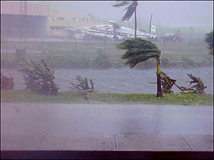Typhoon Chataan - Effects of Typhoon Chataan, including torrential rains and strong winds, on Guam