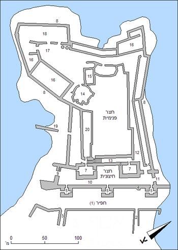 Chateau pelerin plan.PNG