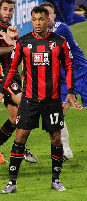 Joshua King (footballer) - King playing for AFC Bournemouth in 2015