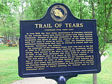 Cherokee removal - Wikipedia