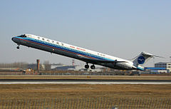 MD-82 linii China Northern Airlines.