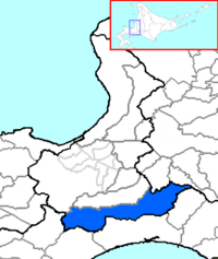 Chitose in Ishikari Subprefecture.png