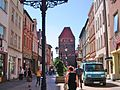 Chojnice-Stare miasto z Bramą Człuchowską.jpg