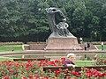 Chopin Monument in Warsaw, 2010.JPG