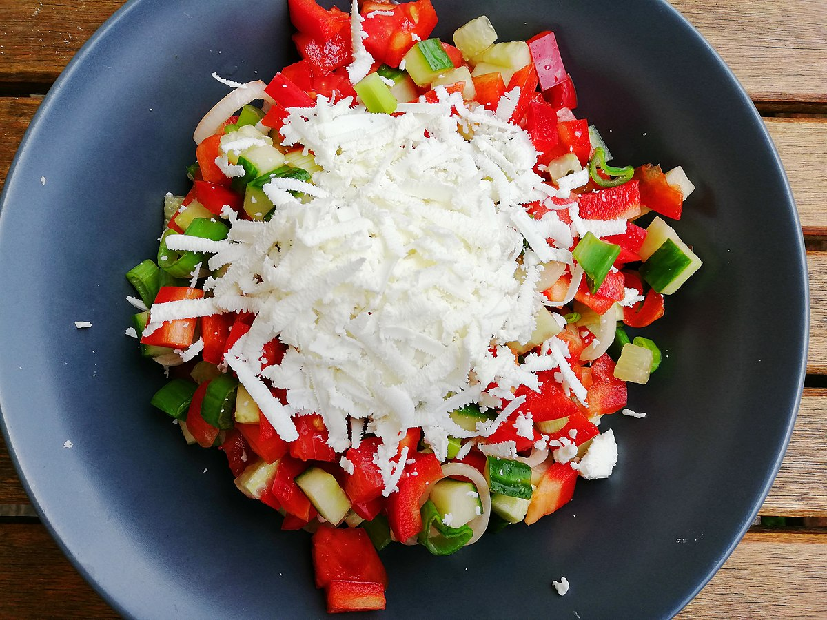 Shopska salad - Wikipedia