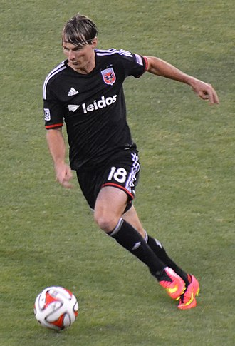 Chris Rolfe - Chris Rolfe playing for DC United in 2014