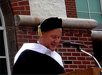 Chris Matthews - Matthews at Quinnipiac University Commencement 2006