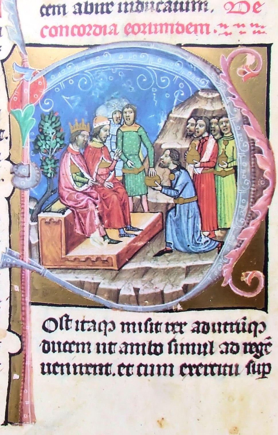 Chronicon Pictum P78 Nis hódol Salamonnak