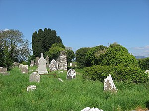 Church and graveyard at Faughart - geograph.org.uk - 802750.jpg