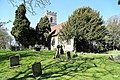 Church of St Martin White Roding Essex England - from the south east.jpg