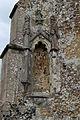 Church of St Mary, Tilty Essex England - buttress niche 1.jpg
