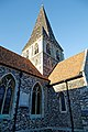 Church of St Mary and St Hugh, Churchgate Street, Harlow, Essex ~ tower from the southwest.jpg