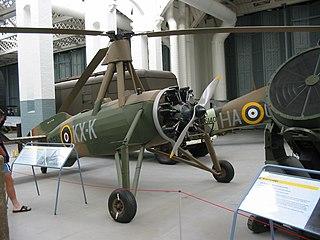 Cierva C.30 aircraft