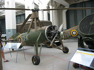 No. 529 Squadron RAF - A Cierva C.30 (Rota Mk.I) of no. 529 Squadron, now at Duxford.