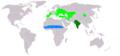 Circaetus gallicus distribution map.png