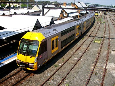 Sydney's iconic double-decker suburban trains